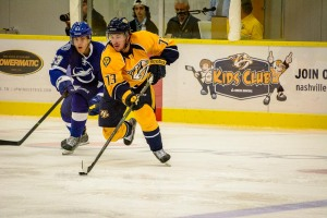 Photos taken at the rookie game played between the Nashville Predators and Tampa Bay Lightning Saturday, September 13, 2014 at the Ford Ice Center in Antioch, Tennessee.