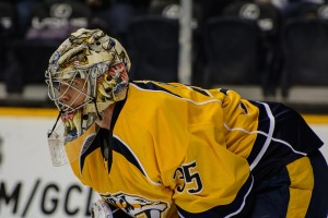 Pekka Rinne (Jim Diamond/Rinkside Report)