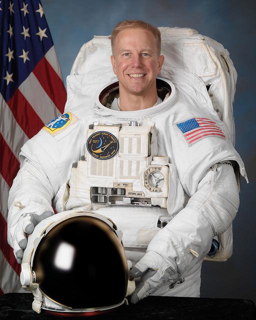 U.S. astronaut Colonel Tim Kopra (NASA)